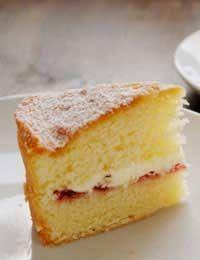Sponge Cakes Cake Sugar Free uses only 3 tbsp honey   + a sugar free Jam for filling