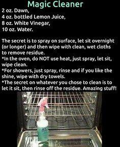 Best oven cleaner!