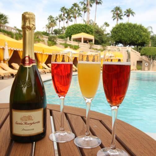 Bellinis- pomegranate, peach, and blackberryThe Phoenician Resort, Scottsdale