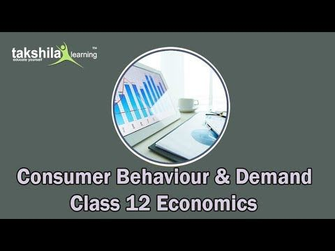 Theory Of Consumer Behaviour And Demand For Cbse Class 12th Economics Trending Takshilalearning Class12 Cbse Class12 Consumer Behaviour Economics Behavior