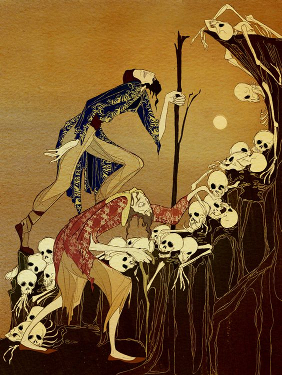 """Kate Baylay : The Silent Princess  """"But as he and his companion began to climb towards the top they paused in horror, for the ground was white with dead men's skulls."""""""