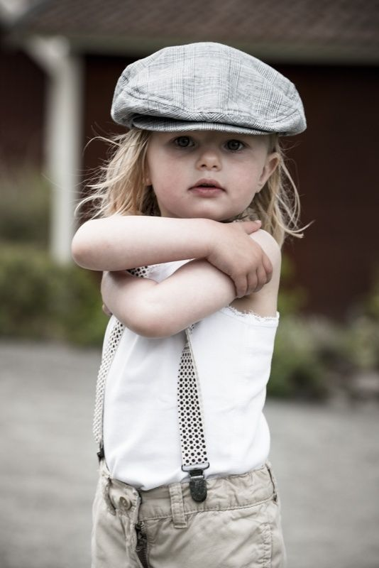 A scally cap can be worn by old and young and boy or girl. How adorable  does this little lassie look in a lit…  a2d282b9c00