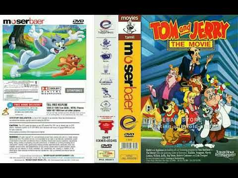 Tom And Jerry The Movie Moserbaer Dvd Youtube Tom And Jerry Movies Dvd
