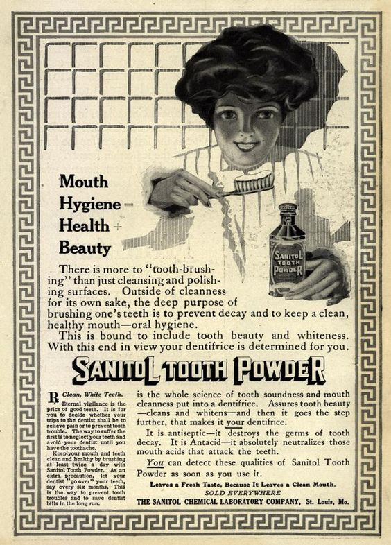 Sanitol Tooth Powder