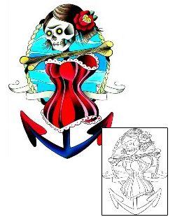 Traditional Tattoos LGF-00329 Created by Levi Greenacres