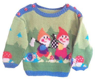 Wiquaオリジナルデザインの子供編込みセーター・キットです。カワイイ木こりさんが、二人仲良く、森の中を歩いています!!後身頃や袖口も、草花、木の子が、デザイ...|ハンドメイド、手作り、手仕事品の通販・販売・購入ならCreema。