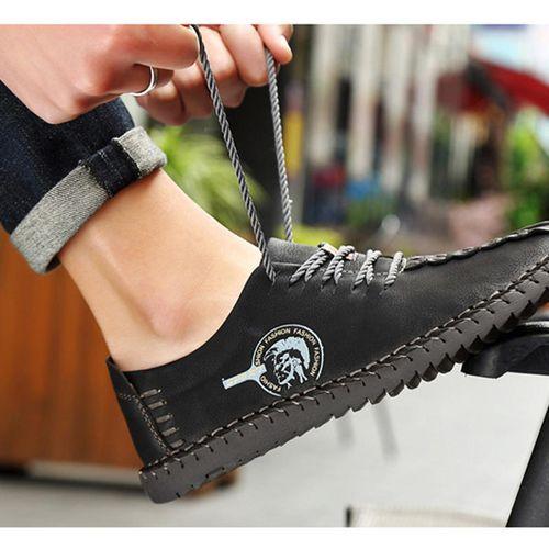 Vova Skorzane Buty Meskie Ze Skory Nubukowej Mens Walking Shoes Leather Flat Shoes Leather Formal Shoes