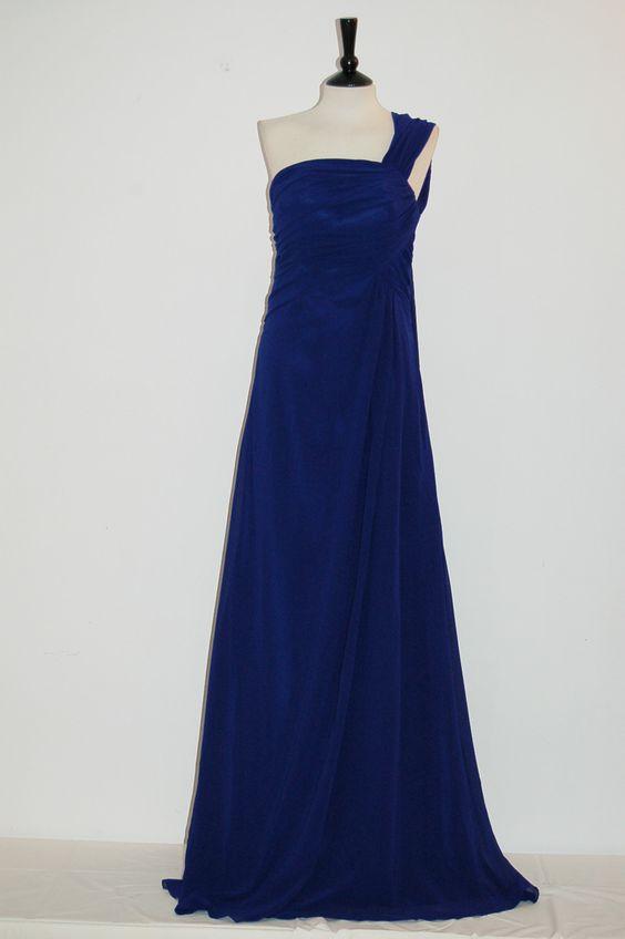 Vestido Judit Azul Vestido fiesta largo