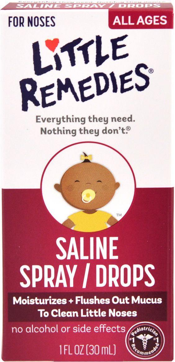 $1.46 Little Remedies Saline Spray Drops at #Walgreens with #Coupon & #BalanceRewardPoints!  http://killinitwithcoupons.com/blog/?p=3894