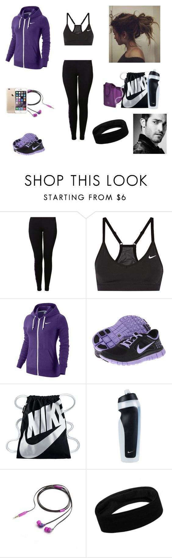 """""""The Twin Alpha's #8"""" by jazmine-bowman on Polyvore featuring NIKE and Nicole Miller"""