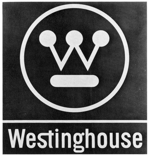 Westinghouse. Designed by Paul Rand (1961)