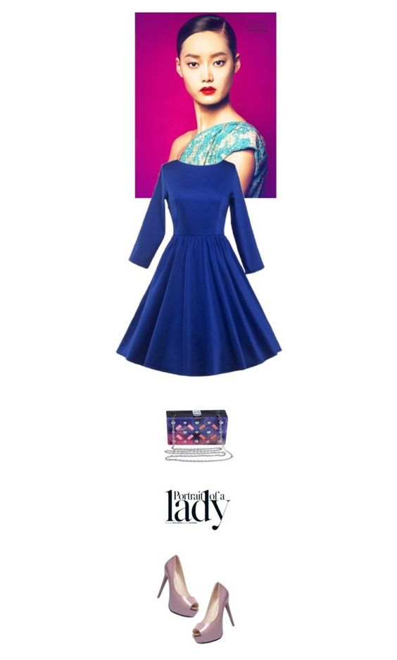 """""""~Lady~"""" by amethyst0818 ❤ liked on Polyvore featuring Inez & Vinoodh and vintage"""