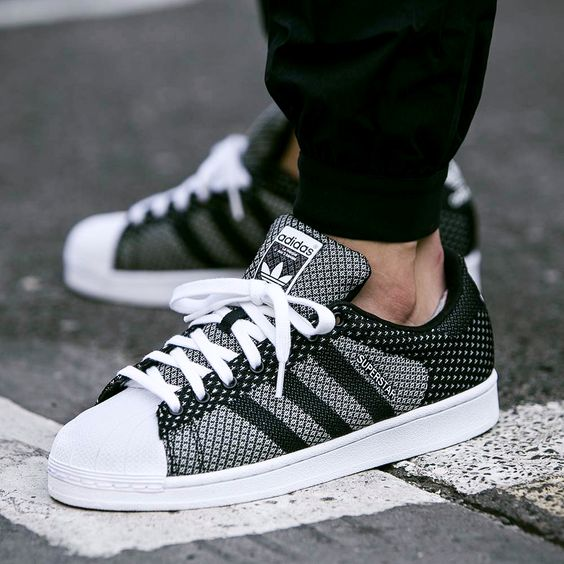 Sneakers To Buy And To Wear Right Now  \u0026quot; Adidas Superstar Weave\u0026quot; .
