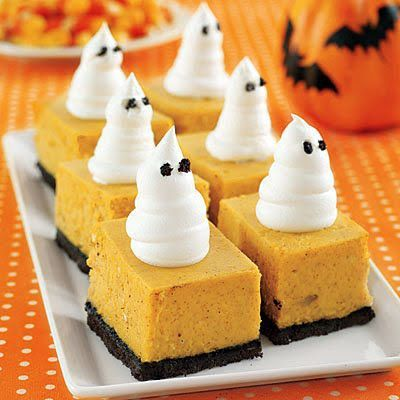 Daw The Cauldron Wizard Recipes for your Body and Soul: Pumpkin Ghost Pie Bars