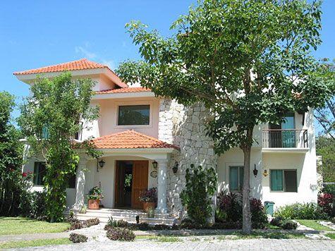 Beautiful home for sale, great style, Paseo Xaman-Ha in Playacar - Playa del Carmen Real Estate.