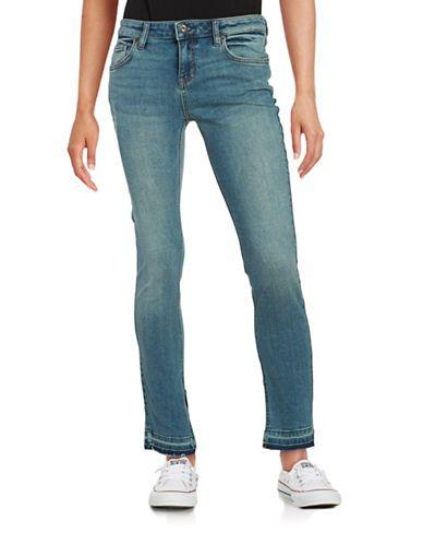 Free People Straight-Leg Jeans Women's Dark Denim 31