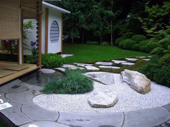 13 Stunning Garden Paths Gardening Pinterest Garden paths - moderne steingarten bilder