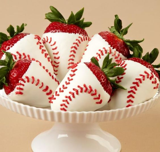 Who's on first? These would be great for an end of year baseball team party!