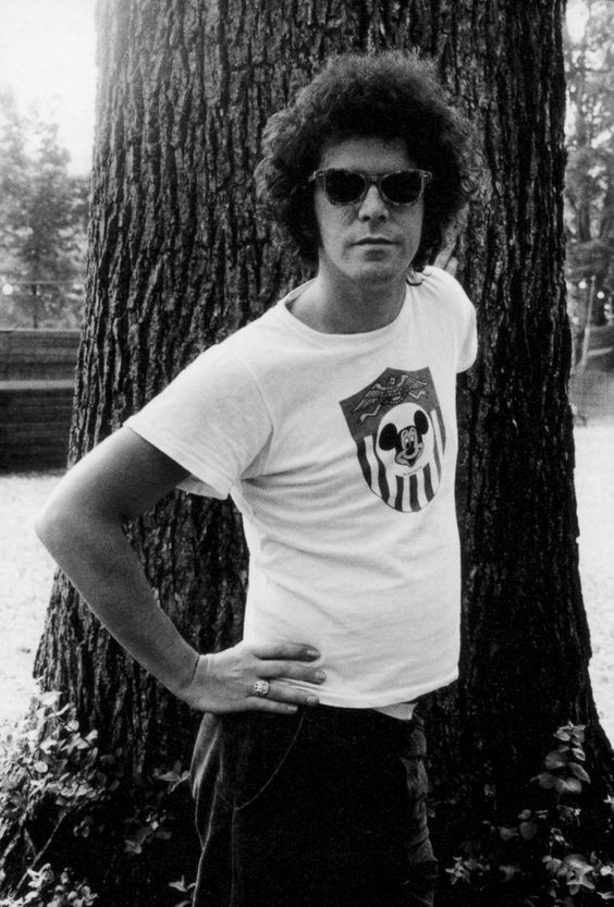 Lou Reed at the Music Inn in Massachusetts, 1973. Photo by Gerard Malanga.