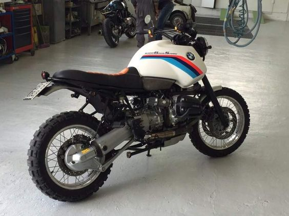 bmw r 1100 gs abs scrambler special cafe racer | custom