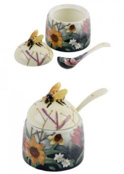 Picture of Summer Bouquet Honey Pot (Old Tupton Ware)