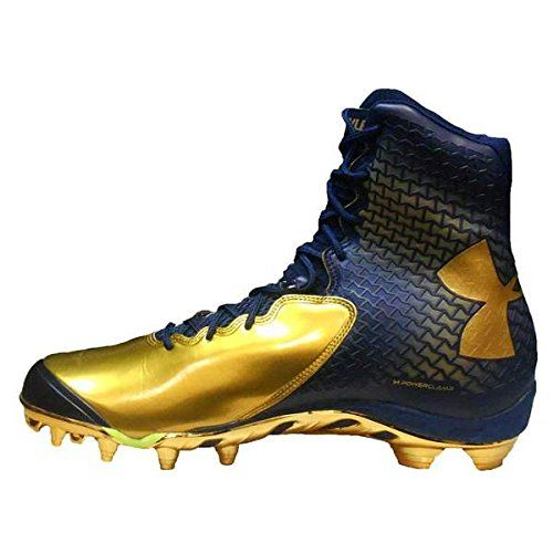gold and black youth football cleats