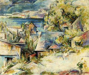 William Preston Dickinson - Port Scène