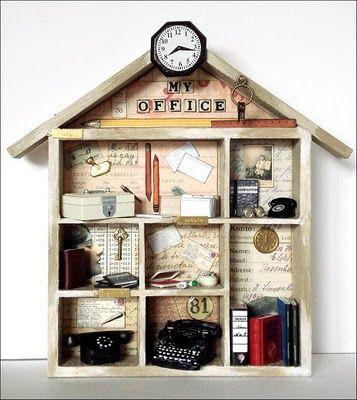 "Shadow Box ""Office"""
