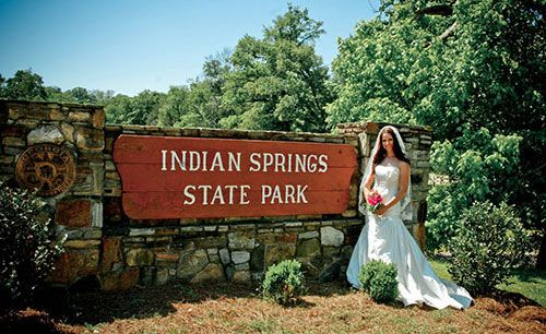 Indian springs georgia wedding