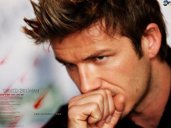 ...  David Beckham also as a model, the husband of Victoria Beckham were also no less exist.