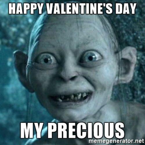 Funny Valentines Day Precious Meme In 2021 Funny Happy Birthday Meme Happy Birthday Quotes For Him Happy Birthday Quotes Funny