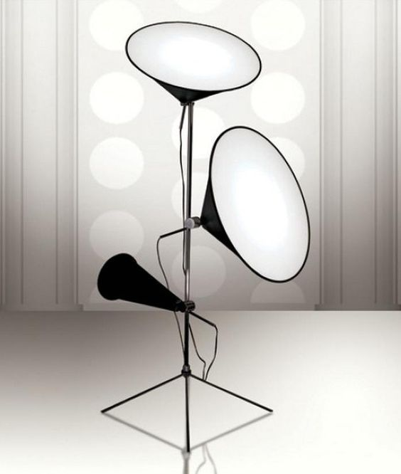 Cone Light Stand By Tom Dixon In 2020 Floor Lamp Design Floor Lamp Lighting Cone Floor Lamp