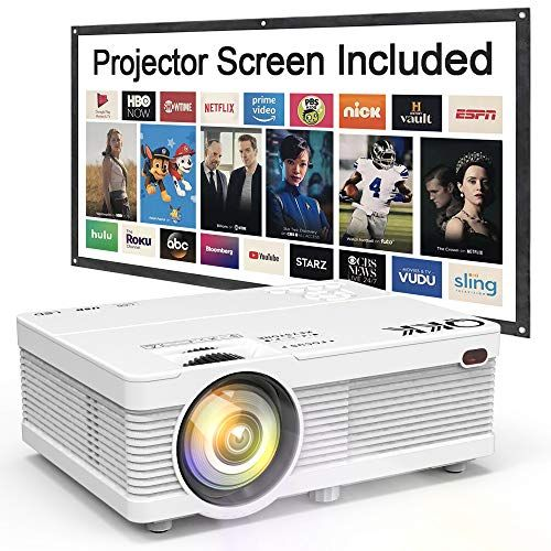 JINHOO Wifi Projector 4500 Lumen 1080P Full HD Supported With Projector