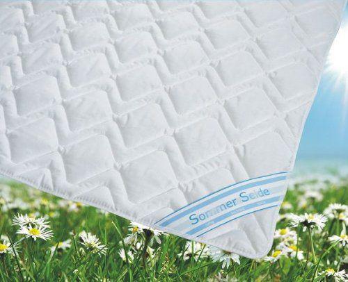 Sommerdecke Bettdecke Wildseide Baumwolle 155 220