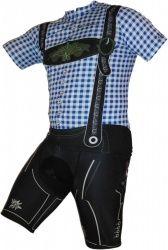Fahrradbekleidungsset im Trachten Design