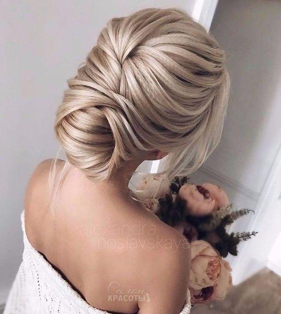 Cheveux En Vedette 2018 Belle Coiffure Coiffure Mariage Coiffure