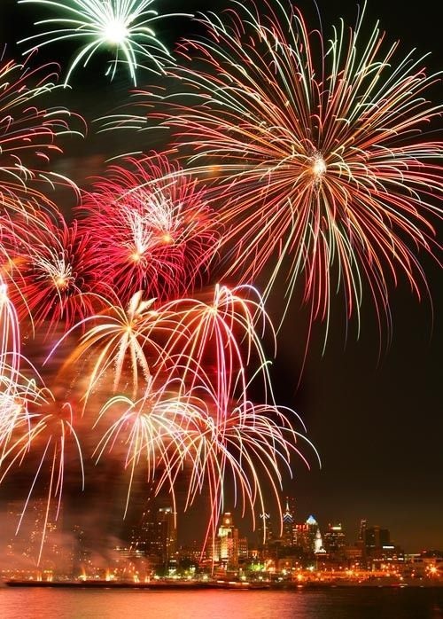 How to Photograph Fireworks on New Year's Eve!  Great tips! Capturing-Joy.com