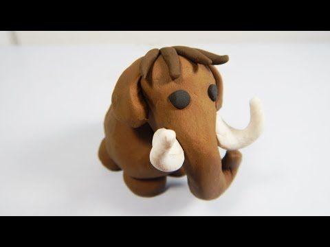 Como Hacer Un Mamut De Plastilina Paso A Paso Facil Explicado Arcilla Polimerica Youtube Plastilina Como Dibujar A Stich Manualidades Animales