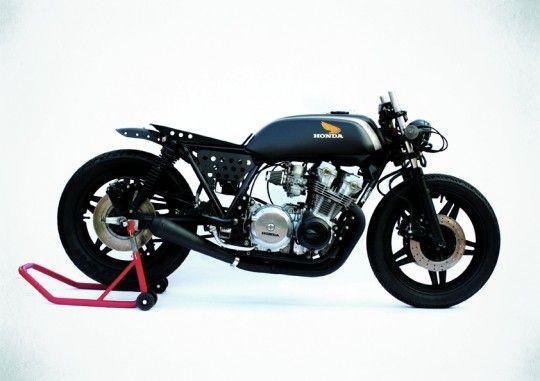 Mean machine: 1981 Honda CB 750 custom by Anvil - via Bike EXIF