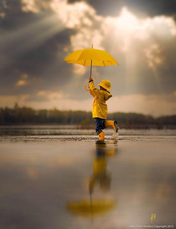 Dancing In The Rain by Jake Olson Studios / 500px