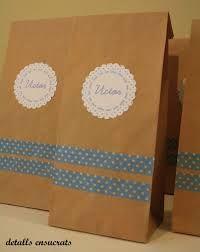 Bolsas de papel decoradas con motivos navide os buscar - Como hacer motivos navidenos ...