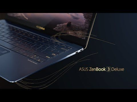 The World S Most Prestigious Laptop Zenbook 3 Deluxe Asus Youtube World Asus Campaign