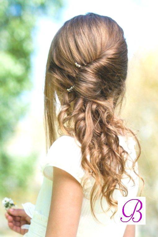Une Jolie Coiffure Pour Une Petite Fille Parfaite Pour Une Ceremonie Ou Un Ma My Blog Jolie Coiffure Coiffure Coiffure Enfant