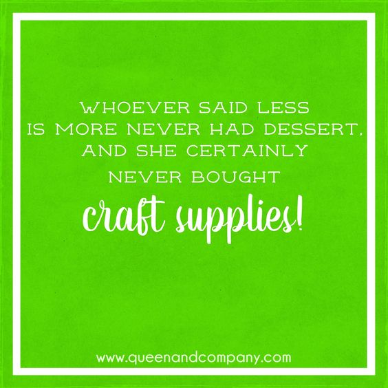 Join the Queen & Co Facebook page for lots of fun scrapbook jokes, craft jokes, rubber stamp jokes and DIY jokes. We celebrate the funny side of crafting!