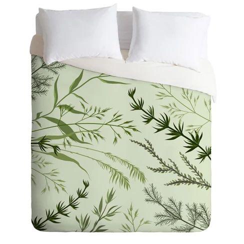 Iveta Abolina Margaux Iv Leaf Comforter Set Deny Designs Comforter Sets Duvet Sets Deny Designs