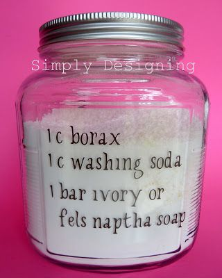 Simply Designing with Ashley: Homemade Laundry Detergent