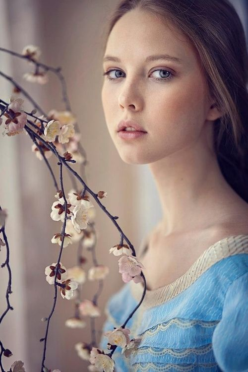 And for a moment there, I saw the old her. The patent forget-me-not blue dress, pinked lips and cheeks, and importantly, the magic that surrounded her lick an airy cloud.
