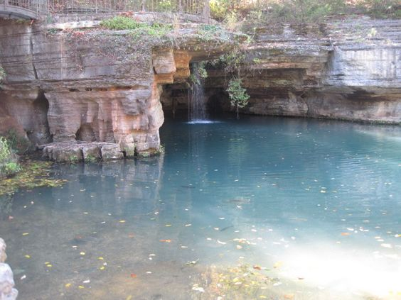 Glory Hole...Dogwood Canyon Park in Branson, Missouri