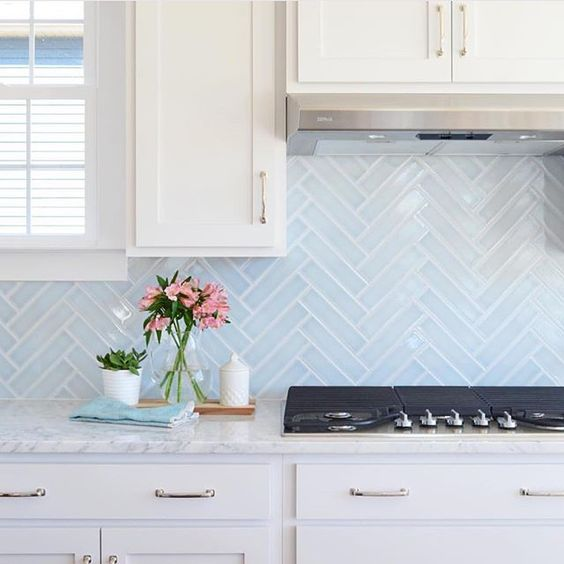 The prettiest tile I ever did see. via: @younghouselove What do you think?: