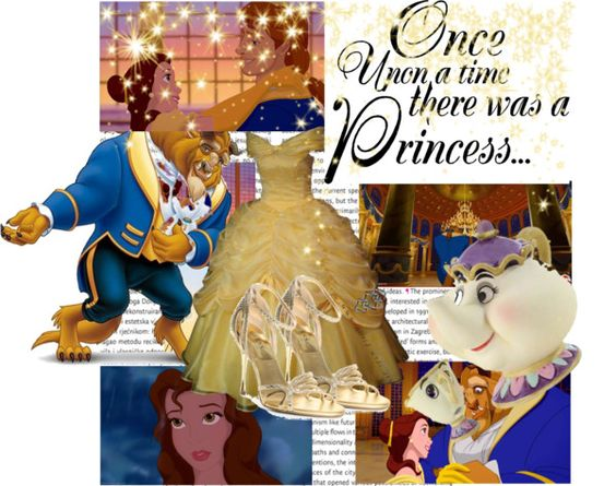 """Beauty and the Beast..."" by gabrielelagace-1 ❤ liked on Polyvore"